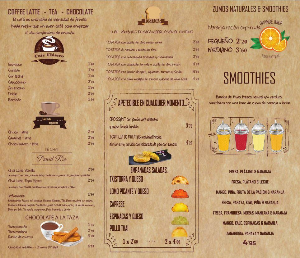 1 - Carta comida sana